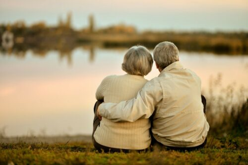 Couple enjoying their retirement