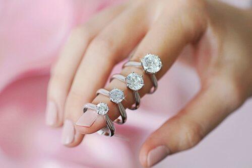 Diamant Ringe mit Diamanten mit 1 Karat und mehr im Vergleich