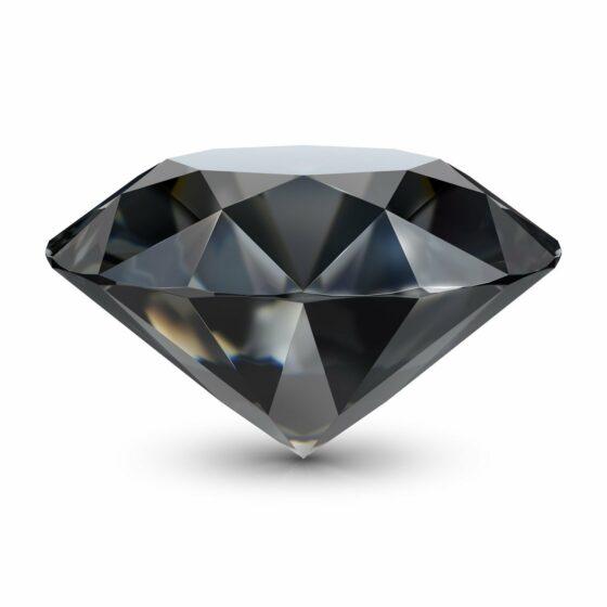 Zwarte diamant waarin u op bestelling kan beleggen bij BAUNAT DIAMONDS