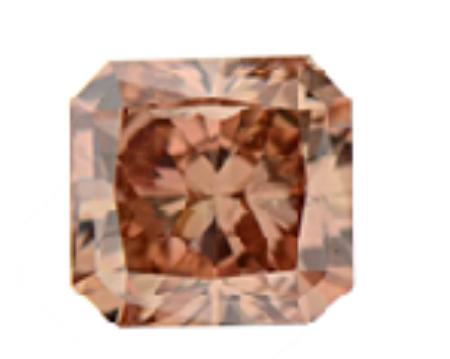 Fancy pink brown